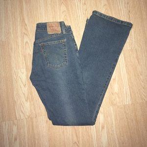 Levi's Women's Superlow 518 Boot Cut Jeans Size 3